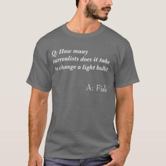 Surrealistisches Witz-Shirt T-Shirt