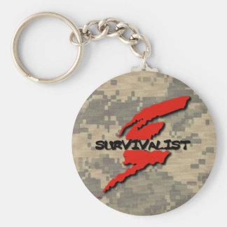 Survivalist Prepper Schlüsselanhänger