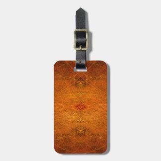 Suryasta Sun Gruß-abstrakte Kunst Kofferanhänger