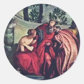 Susanna durch Veronese Paolo beste Qualität Stickers