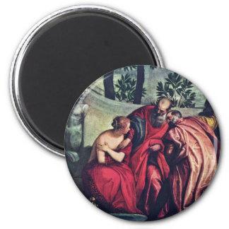 Susanna durch Veronese Paolo (beste Qualität) Magnets
