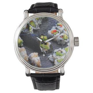 Sushi Armbanduhr