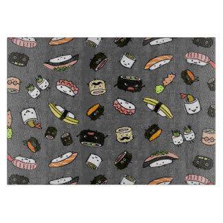 Sushi-Charakter-Muster Schneidebrett