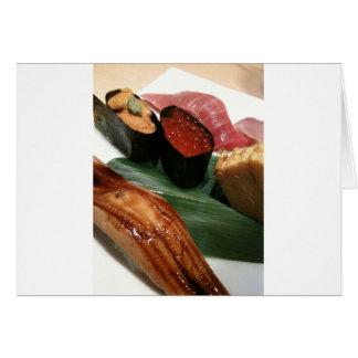 Sushi in Japan Karte