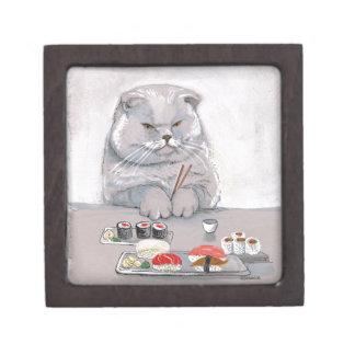 Sushi-KatzeGrumps Schachtel