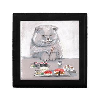 Sushi-Katzen-Herr Grumps ©CSiravo Erinnerungskiste
