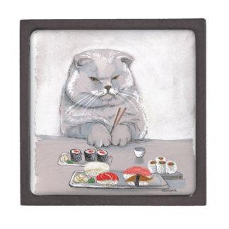 Sushi-Katzen-Herr Grumps ©CSiravo Kiste