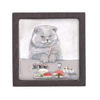 Sushi-Katzen-Herr Grumps ©CSiravo Schachtel