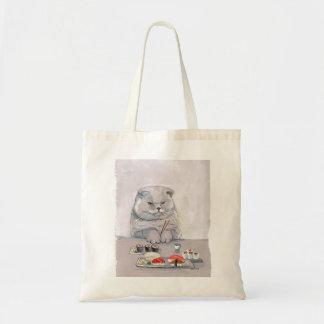 Sushi-Katzen-Herr Grumps ©CSiravo Tragetasche