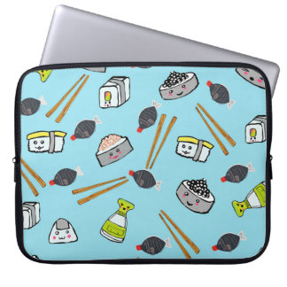 Sushi kawaii niedlicher Fall Laptopkasten Laptop Sleeve