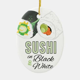 Sushi Keramik Ornament