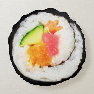 Sushi-Kissen Rundes Kissen