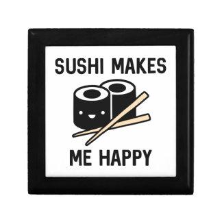 Sushi macht mich glücklich schmuckschachtel