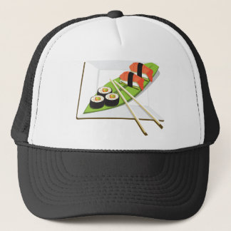 Sushi-Mahlzeit Truckerkappe