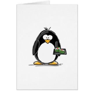 Sushi-Pinguin Karte
