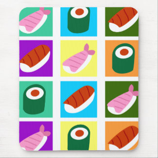 Sushi-Pop-Kunst Mousepad