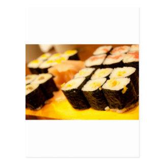 Sushi Postkarte