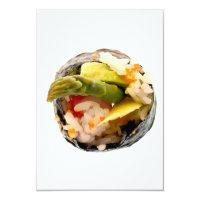 Sushi-Rollenspargel-Reis-japanische