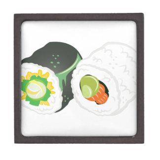 Sushi Rolls Schmuckkiste