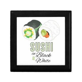 Sushi Schmuckschachtel