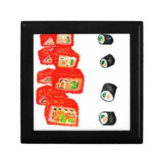 Sushi-Set Watercolor3 Geschenkbox