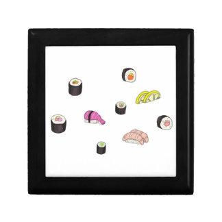 Sushi und Sashimi Schmuckschachtel