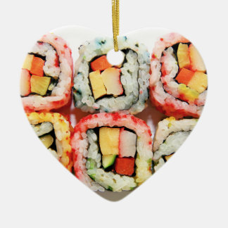 Sushi-Verzierung Keramik Ornament