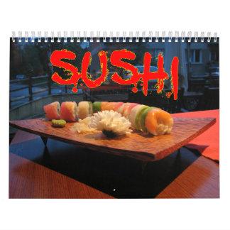Sushi-Wandkalender Abreißkalender
