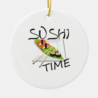 Sushi-Zeit Keramik Ornament