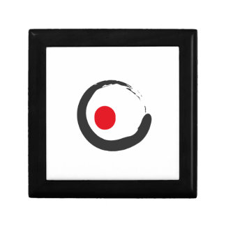 Sushi Zen Minimalist Icon Schmuckschachtel