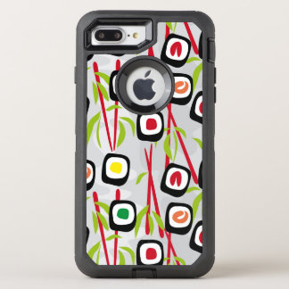 Sushihintergrund OtterBox Defender iPhone 8 Plus/7 Plus Hülle