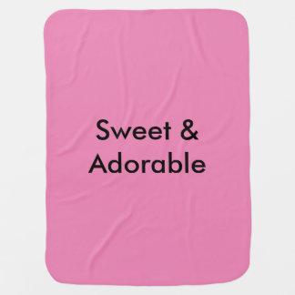 Süß u. entzückend kinderwagendecke