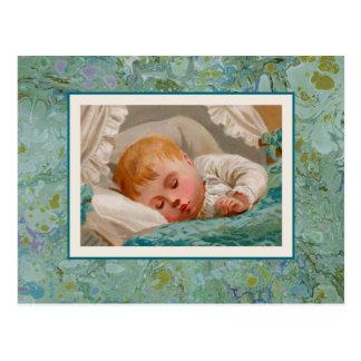 Süße Baby-Postkarte Postkarte
