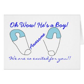 süße Babykarte Grußkarte