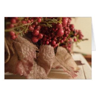 Süße Beeren-Sammlung Karte