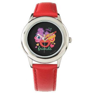 Süße beste Freund-Charaktere Armbanduhr