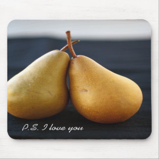 Süße Birnen-Sammlungs-Mausunterlage Mousepad