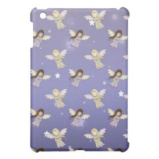 Süße Engel in der Sternchen-Vereinbarung iPad Mini Hülle