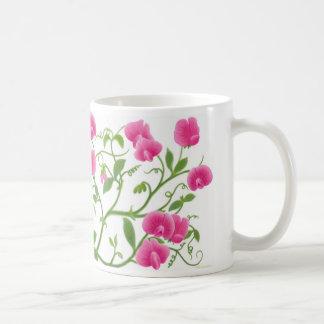 Süße Erbsen-Garten-Blumen-Tasse