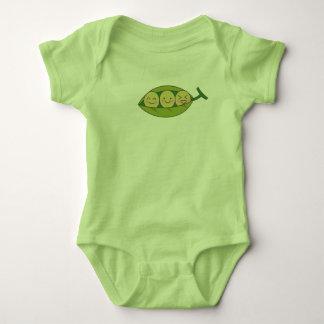Süße Erbsen-Säuglings-Bodysuit Baby Strampler