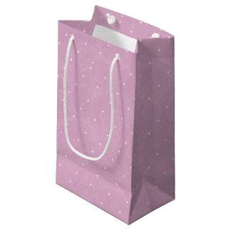 Süße Erbsen-Tee-Geburtstag - Rosa Kleine Geschenktüte