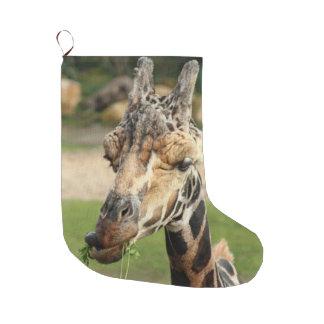 süße Giraffe Großer Weihnachtsstrumpf