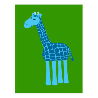 Süße Giraffe Postkarte