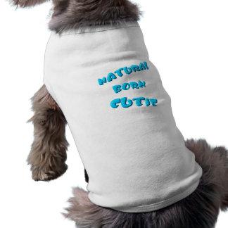 Süsse-Haustier-Shirt-Schablone von Geburt T-Shirt