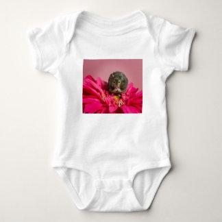 Süsse in einer Blume Baby Strampler