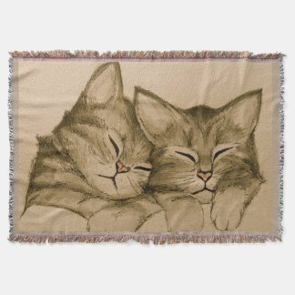 Süße Kätzchen Decke