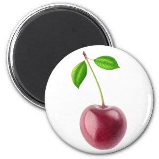 Süße Kirsche Runder Magnet 5,7 Cm