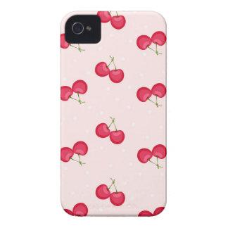 Süße Kirscheinzigartiges Muster iPhone 4 Case-Mate Hülle