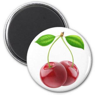Süße Kirschen Runder Magnet 5,1 Cm
