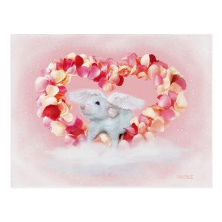 Süße kleine Heartrat Postkarte